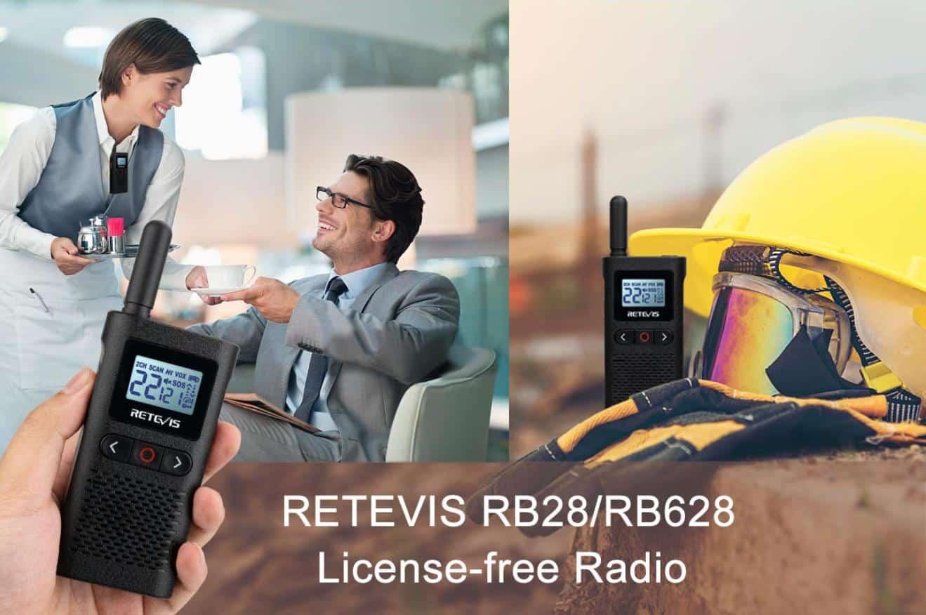RB28 license-free walkie talkie