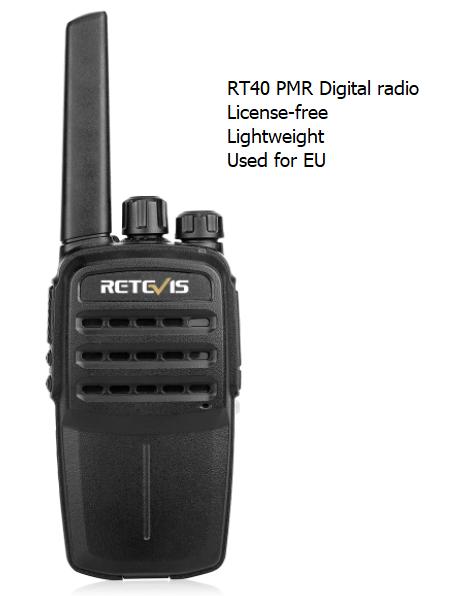 RT40 digital pmr radio