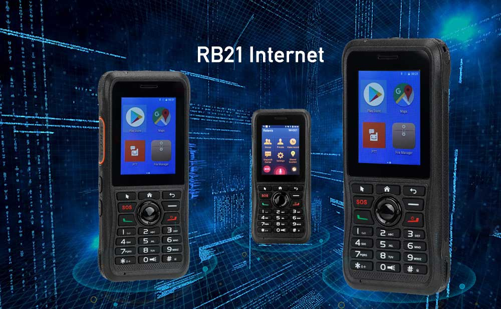 3 kinds of Network modes of POC Radio RB21