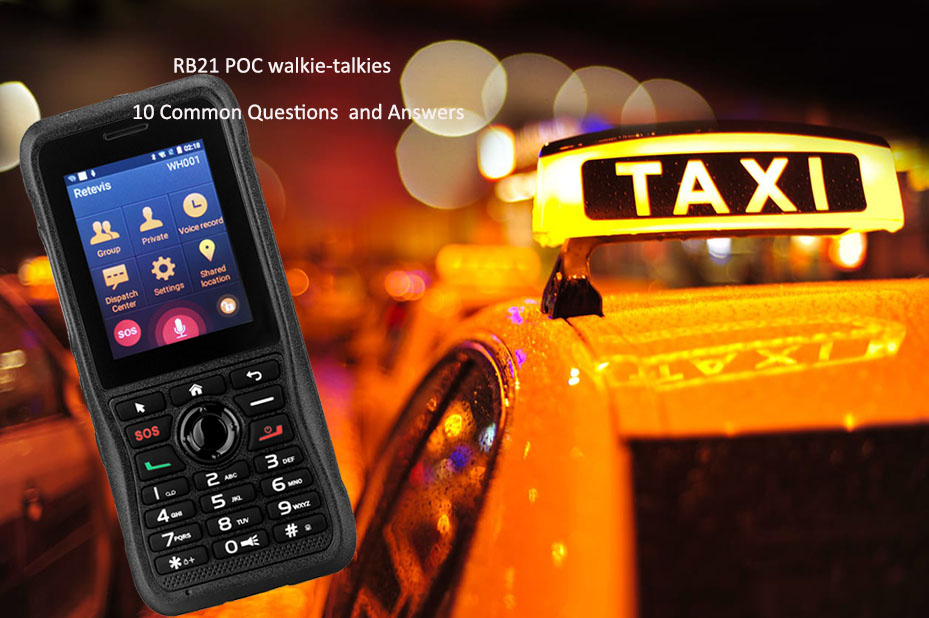questions and answers about RB21 poc walkie talkies