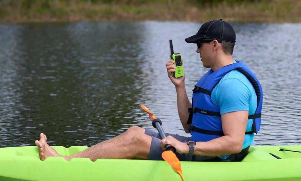 Kayaking Equipment-waterproof walkie talkies RT49P