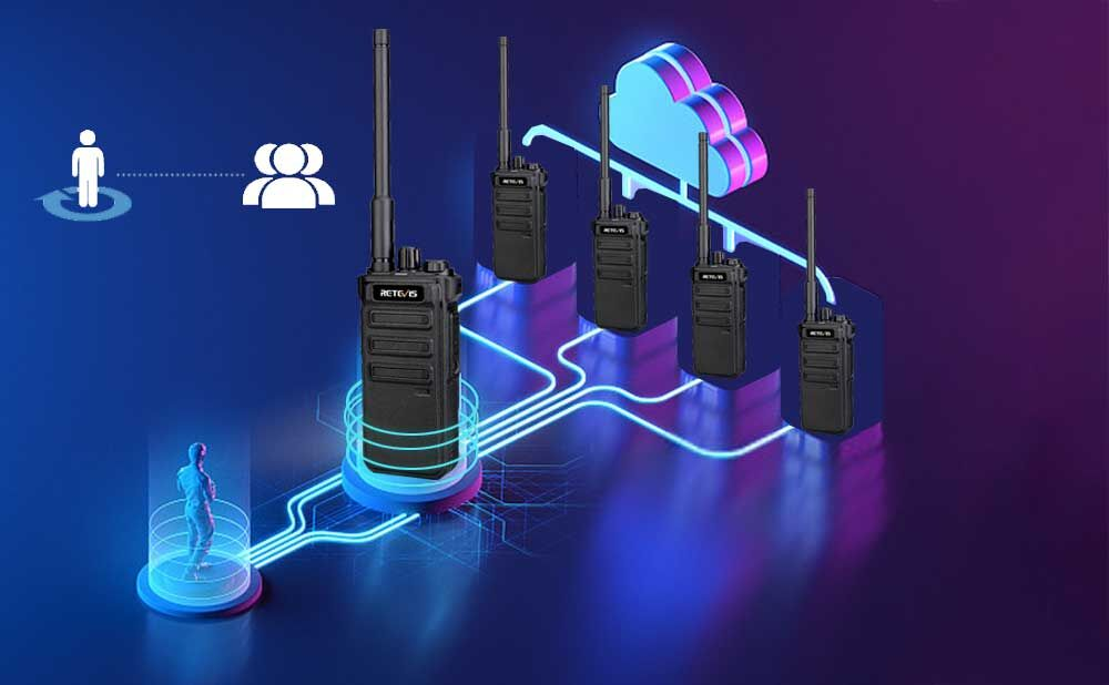 RB25 DIGITAL RADIO WITH GROUP CALL