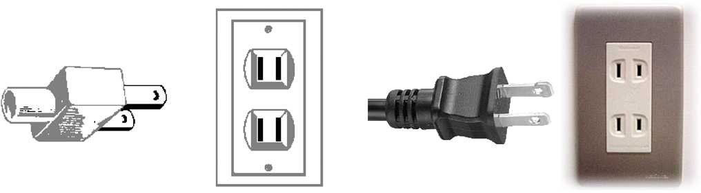 Walkie Talkie Outlet Plugs Type A