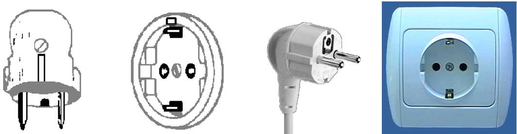 Walkie Talkie Outlet Plugs Type F