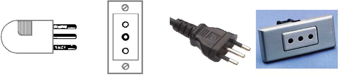 Walkie Talkie Outlet Plugs Type L