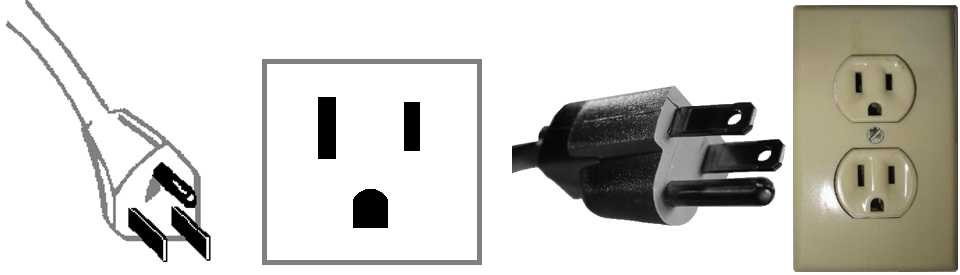 Walkie Talkie Outlet Plugs Type B