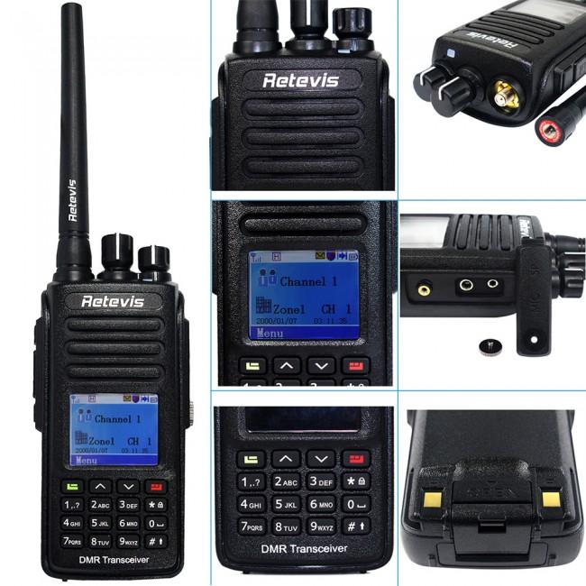 IP67 Waterproof Dustproof DMR Digital Radio