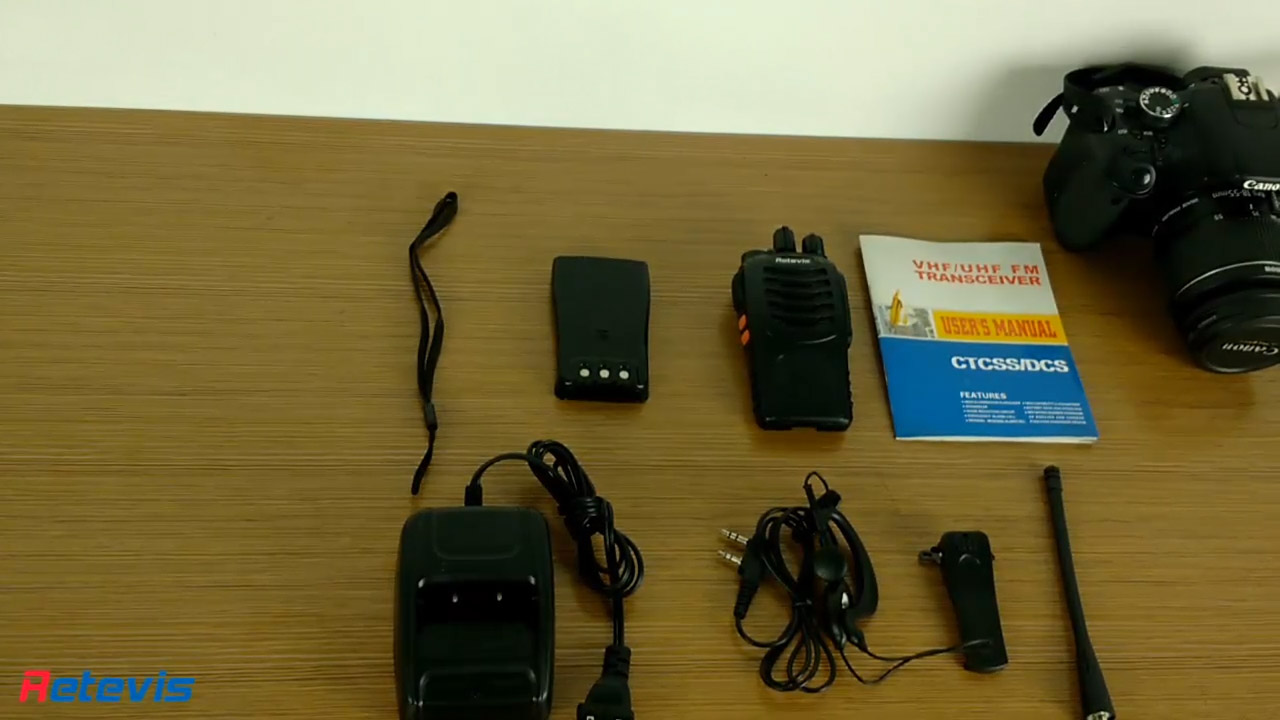 RETEVIS H777 Walkie Talkie Introduction