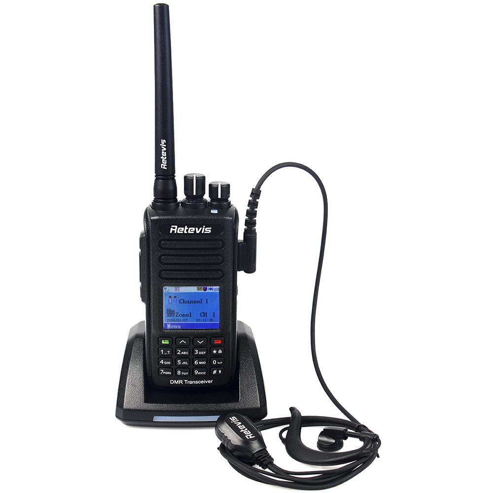 IP67 Waterproof Dustproof DMR GPS Digital Radio