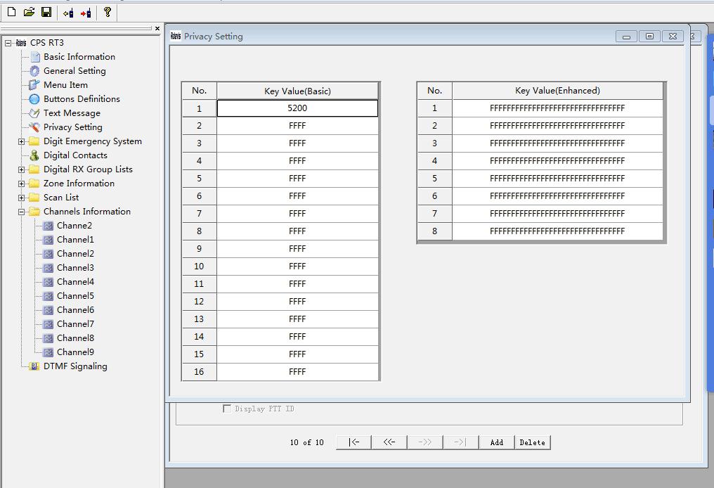 RT3 scrambler-encryption function