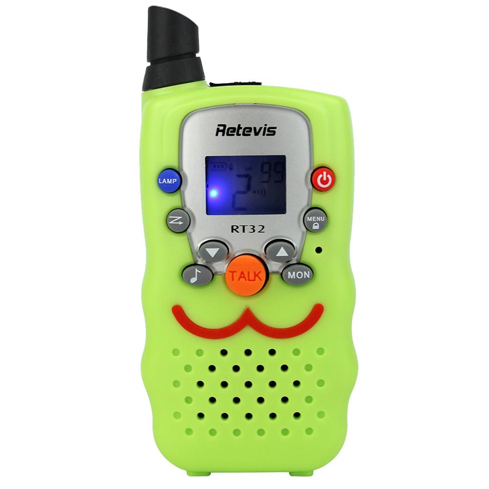 Retevis Kids Walkie Talkie Multi-language Manual Update
