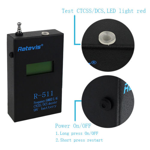 Retevis Portable LCD Frequenc Meter Test (4)