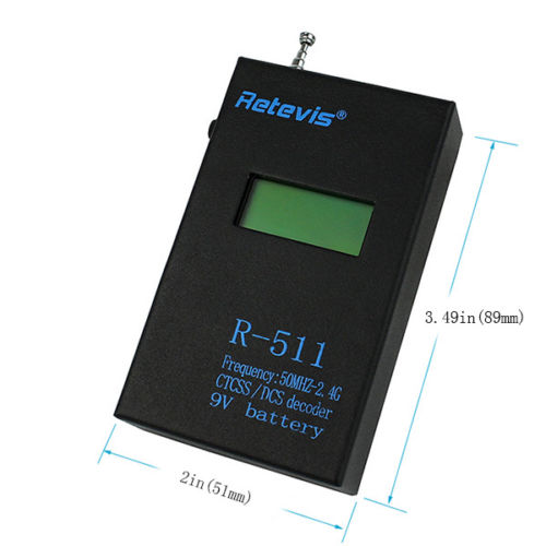 Retevis Portable LCD Frequency Meter Test
