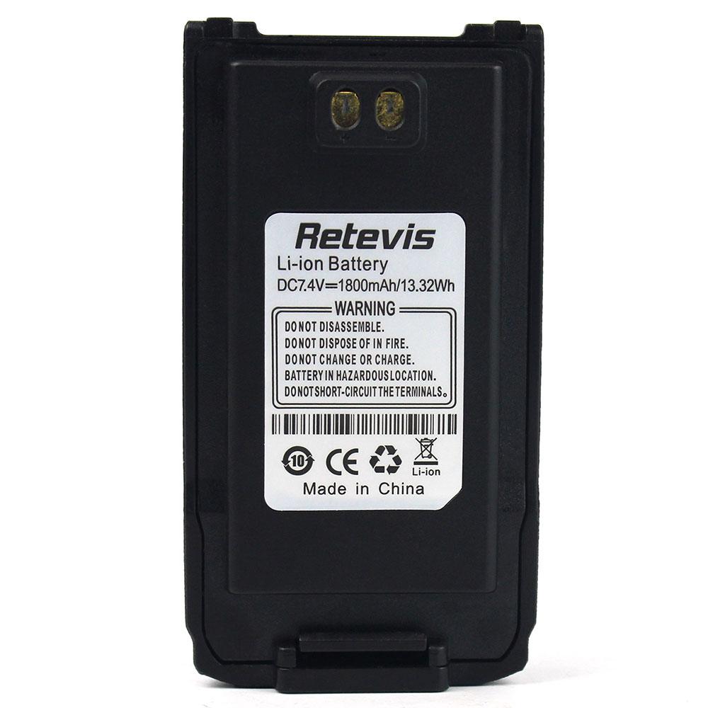 Retevis RT6 battery keep walkie talkie battery best