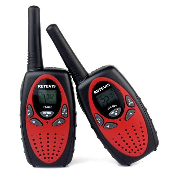2pcs RT628 USEU Frequency Walkie Talkies UHF Two-Way Radio for kids