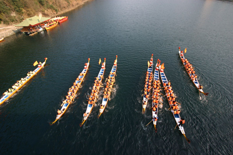 Racing Dragon Boat