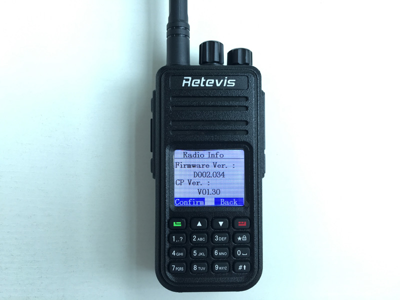 Firmware Upgrade of RT3 & RT8.