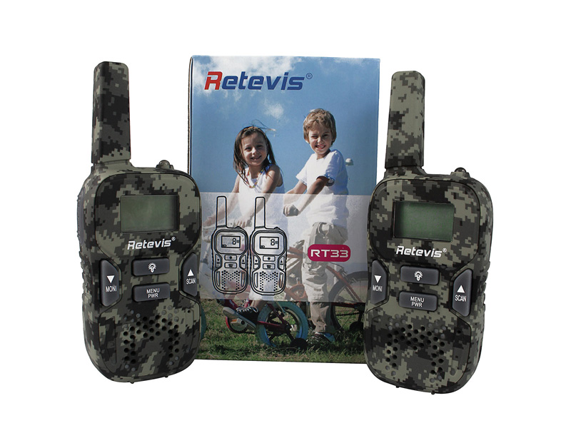 NEW Retevis Kids Walkie Talkie RT33(1)