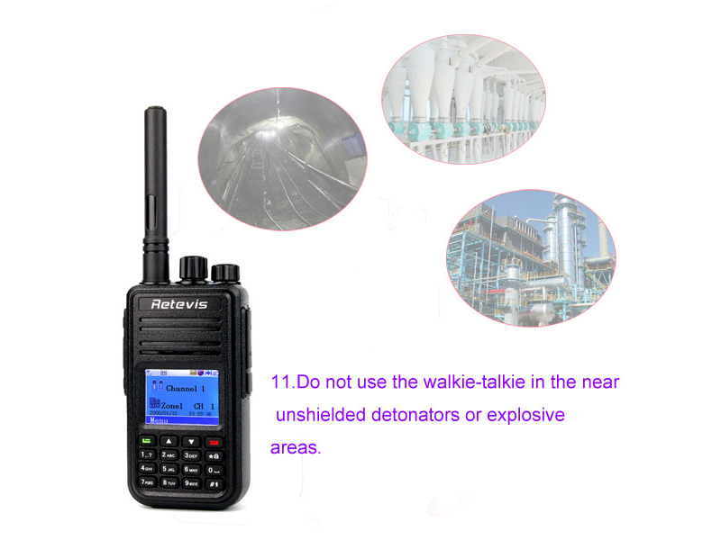 How to use the walkie talkie correctly 11