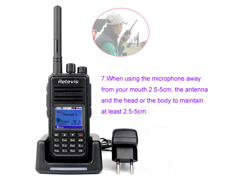 How to use the walkie talkie correctly 7