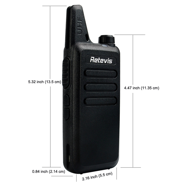 RT22 Small & Beautiful Walkie Talkie