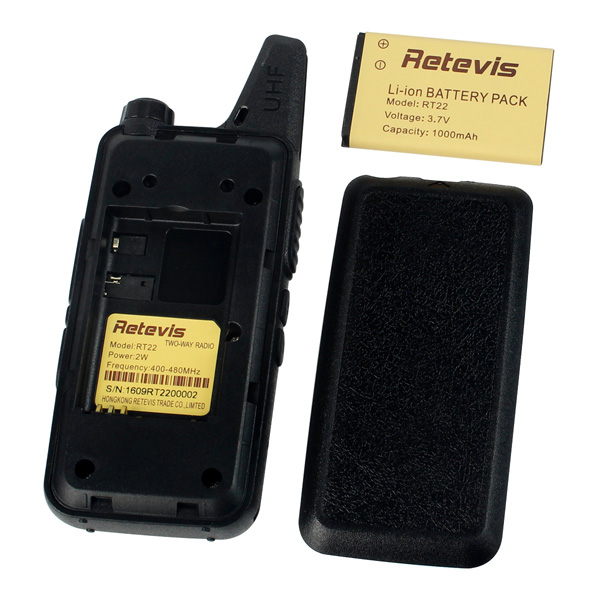 RT22 Portable Radio Professional Battery