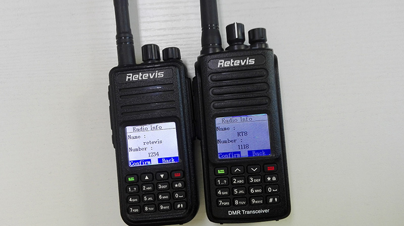 retevis rt3 private call rt8