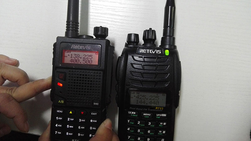 uhf communicate with vhf