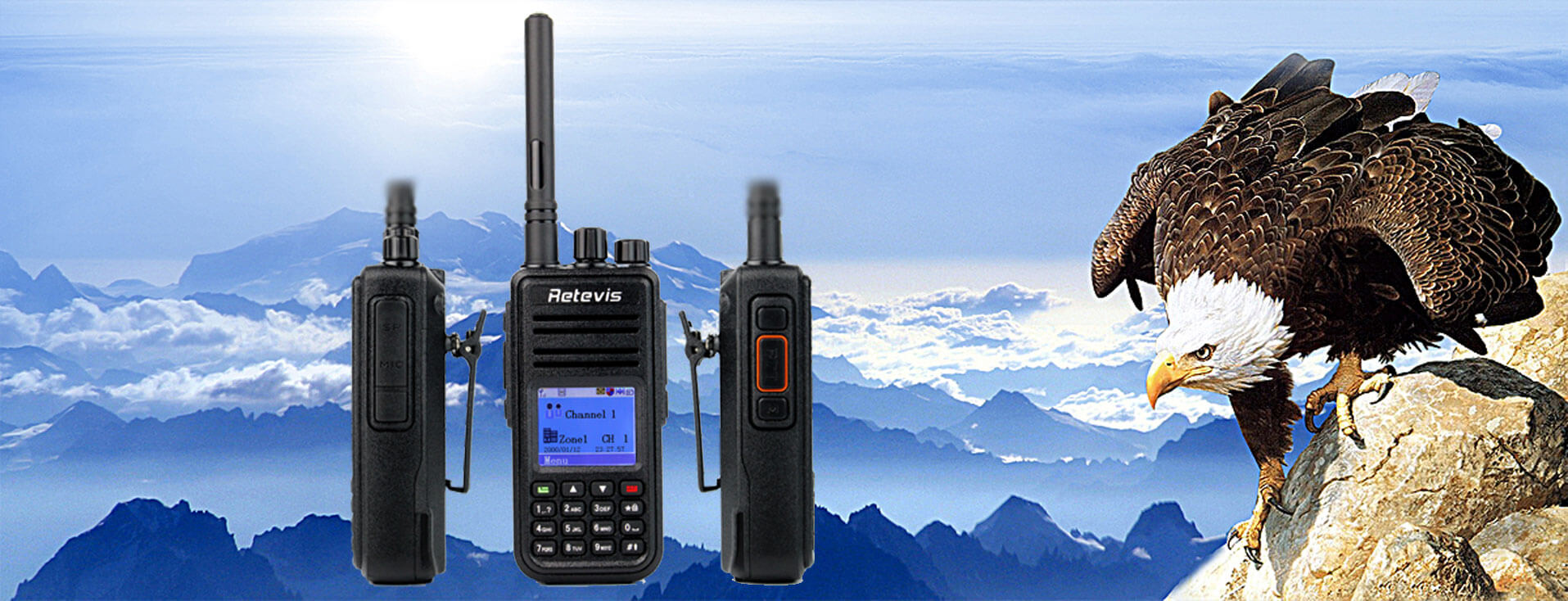 RT3 + MD380 Tools Firmware,Give you a different DMR radio