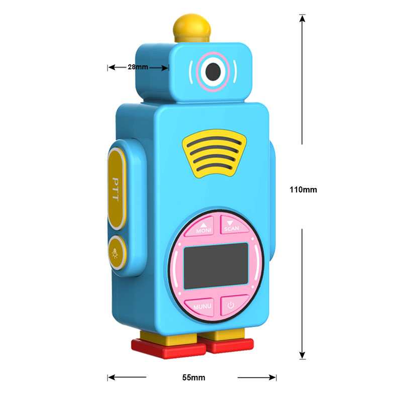 rt36 3 New Arrival | Toy Robot RT36 kids walkie talkie