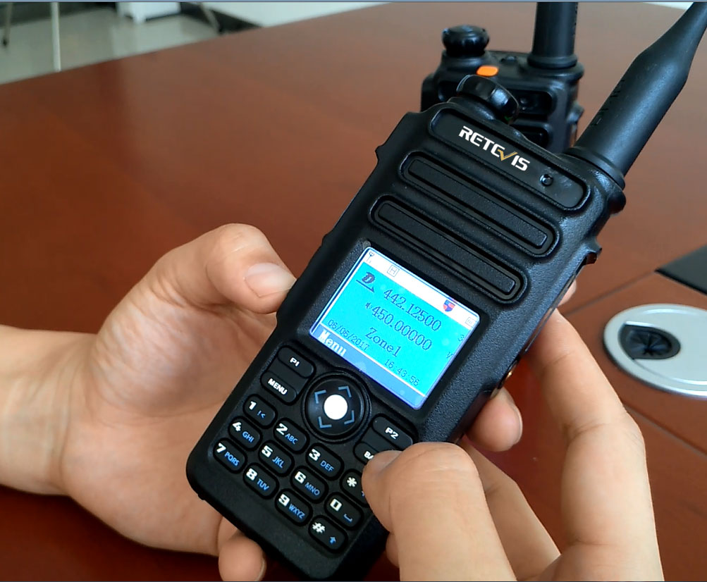 RT82 Dual Band DMR Radio