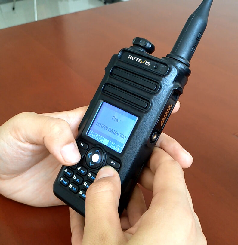 RT82 Dual Band DMR Radio Record