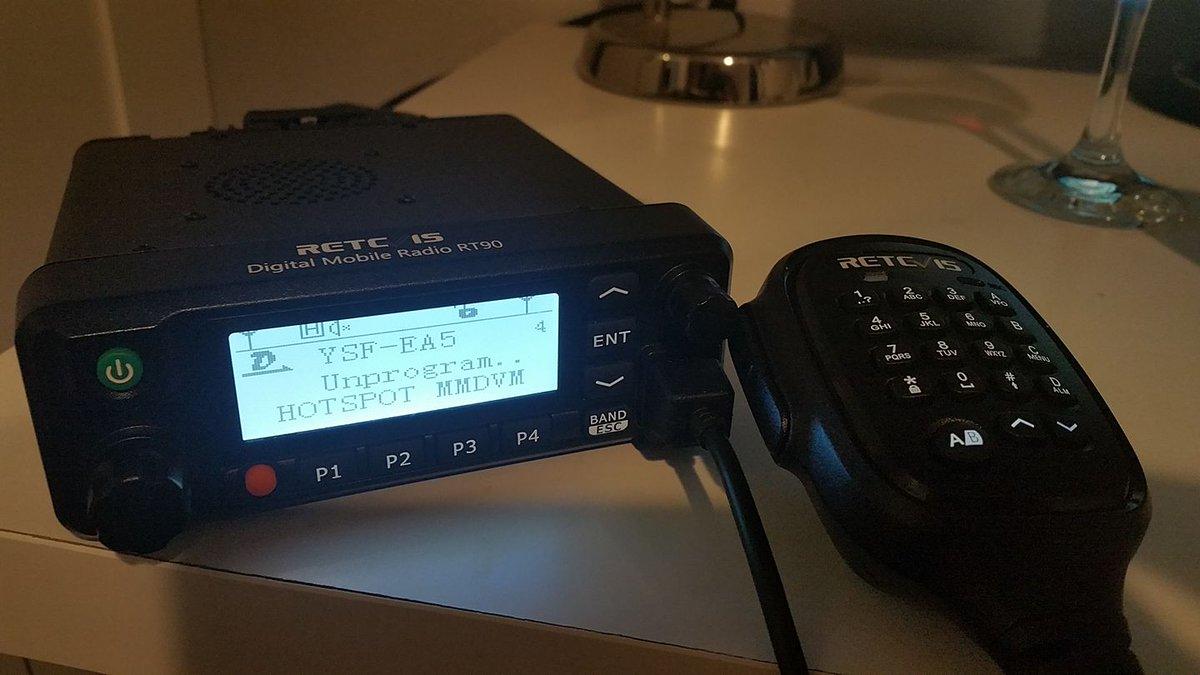 Retevis RT90 Dual Band DMR Analogue Mobile Radio