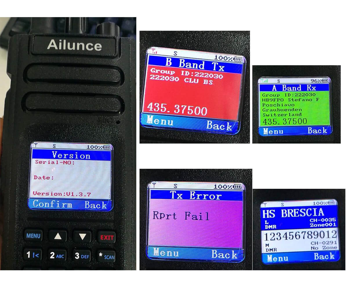Ailunce HD1 Software and Firmware - RETEVIS TECHNOLOGY