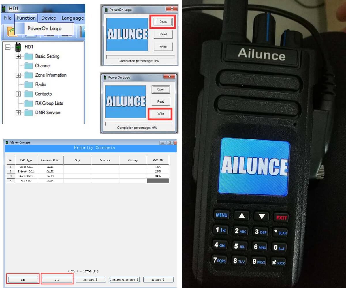 Ailunce HD1 Software and Firmware Change Logs
