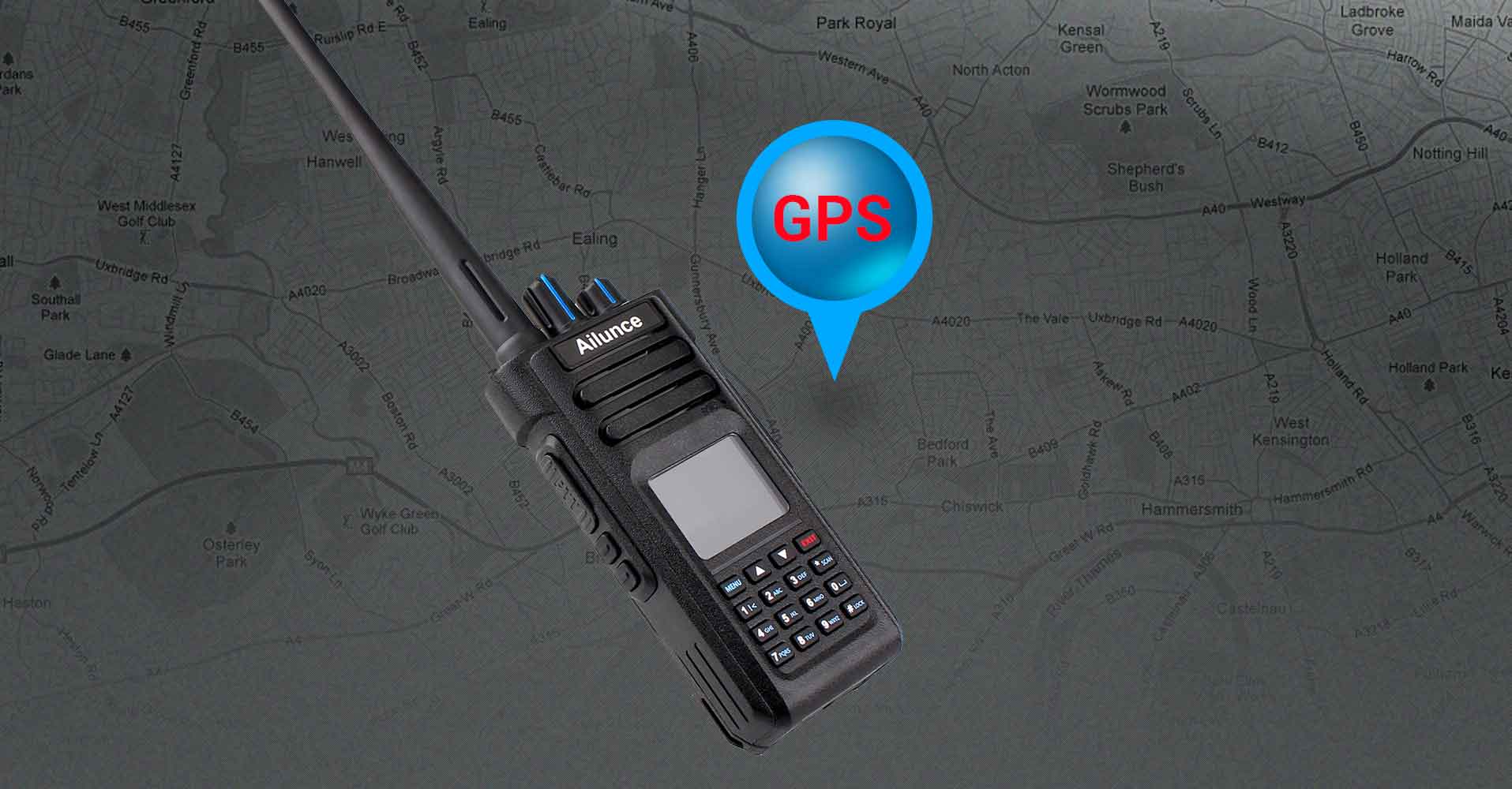 How to operate HD1 GPS function