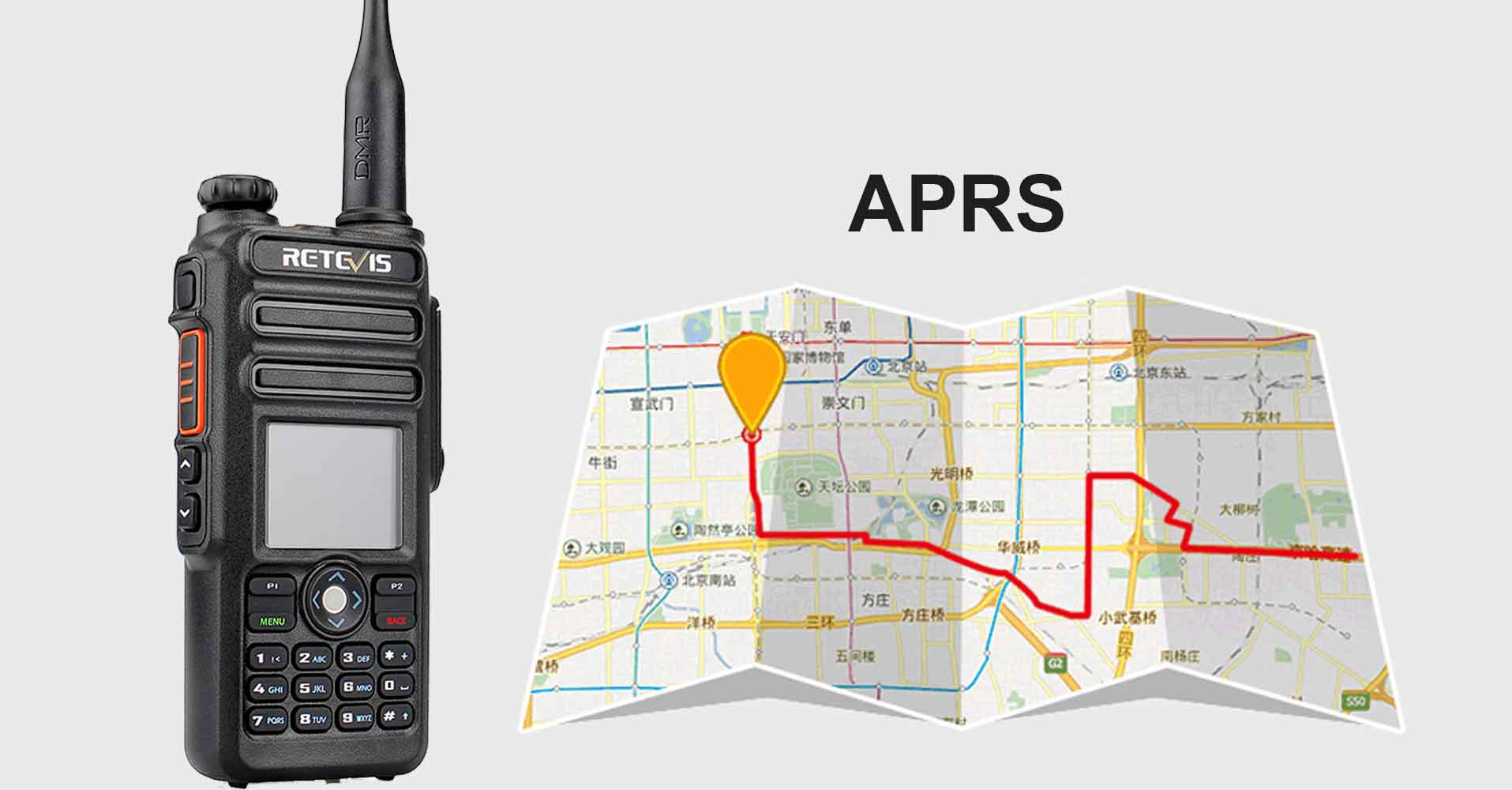 How to use the RT82 built in GPS to report APRS location