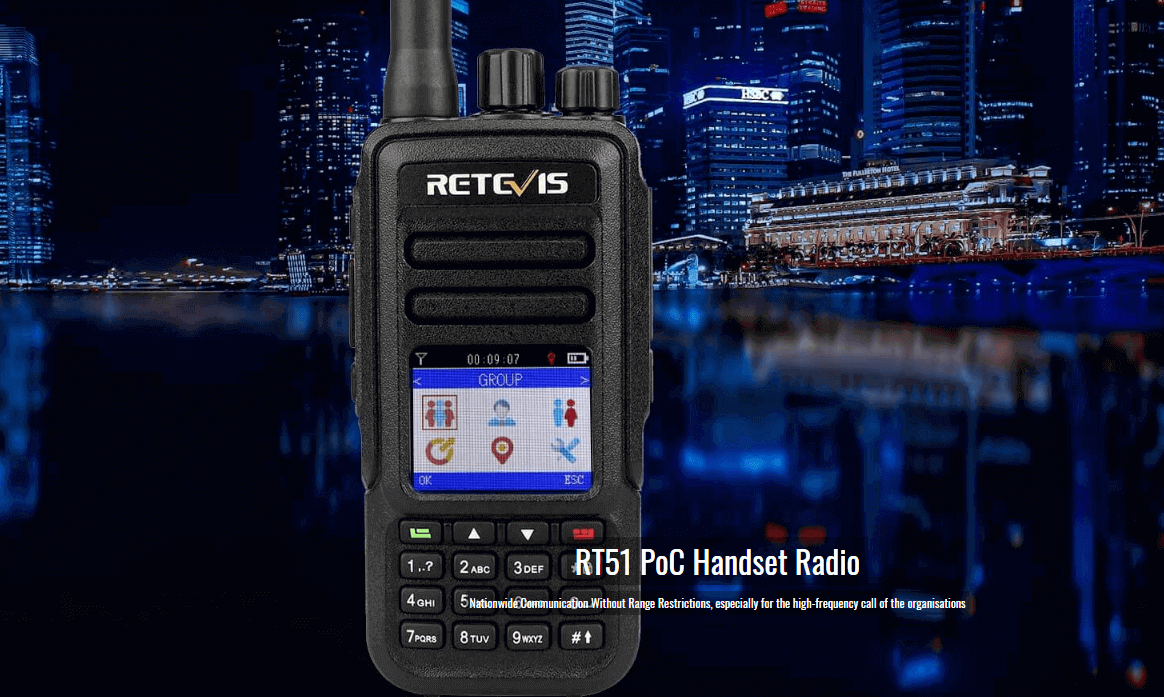 Unlicensed RT51 network radio