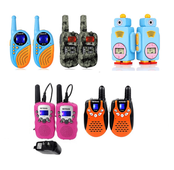 rechargeable kids walkie talkie