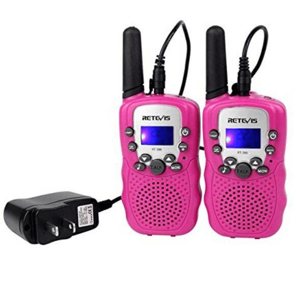 rechargeable kids walkie-talkies