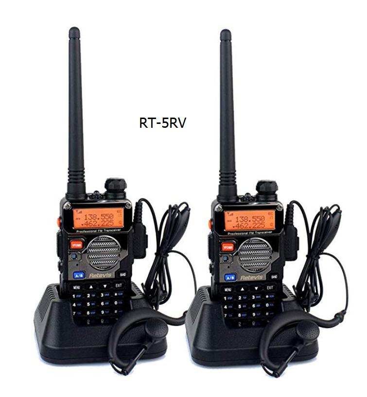 RT5RV walkie talkie