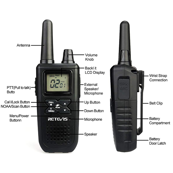 Rt41 two way radio-retevis