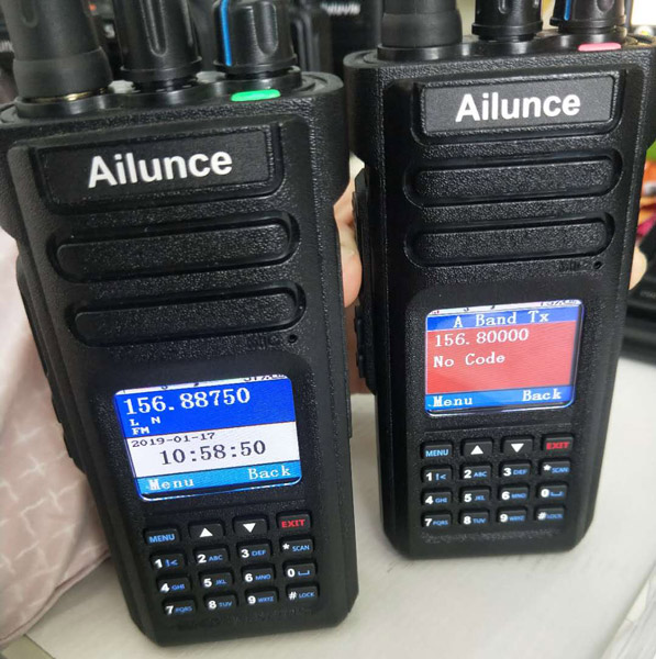 Operation of Ailunce HD1 DMR Radio Three Scan Modes