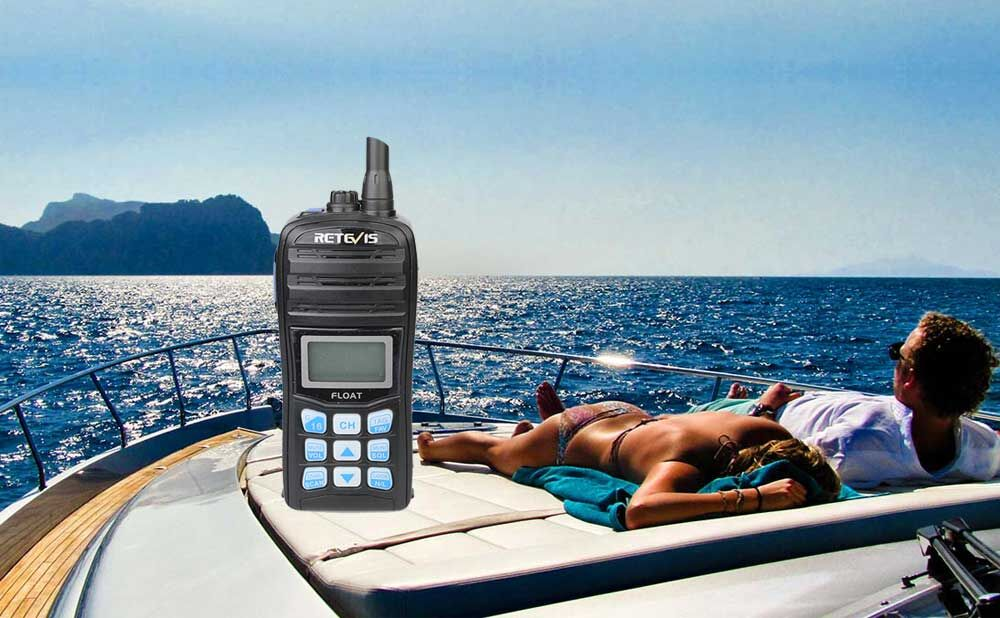Marine radio RT55
