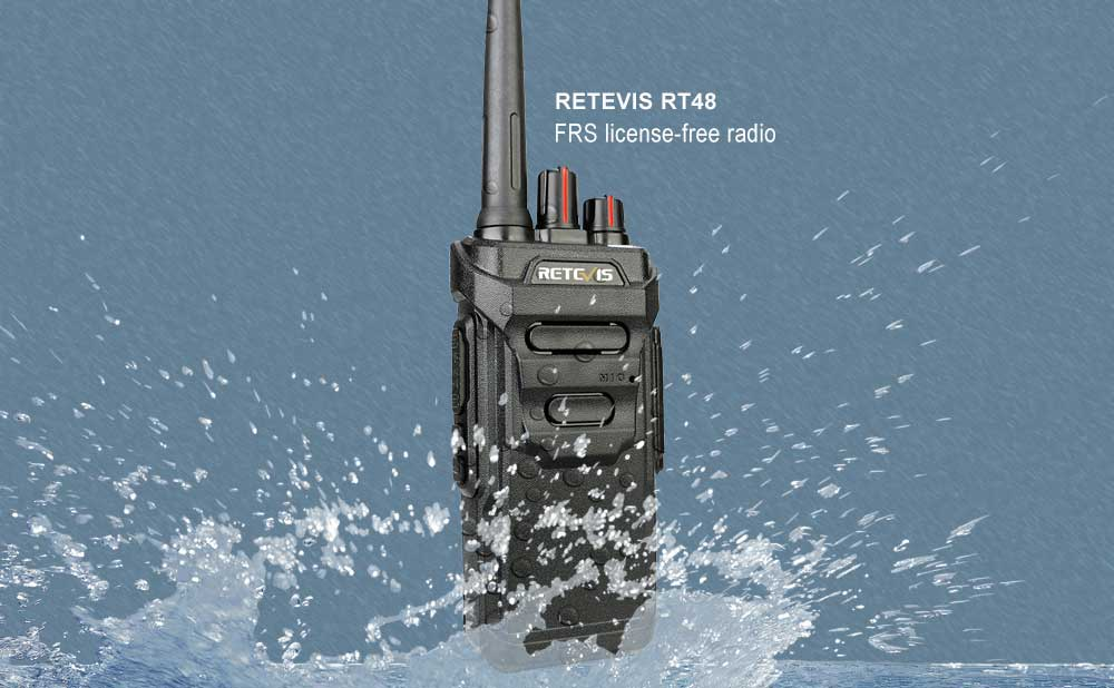 water-proof FRS radio