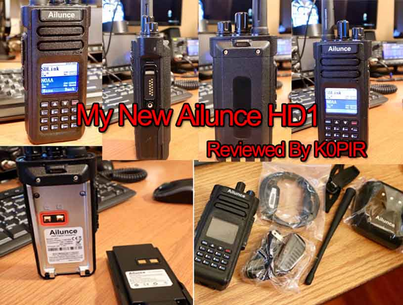 Review: My New Ailunce HD1 - Retevis Blog