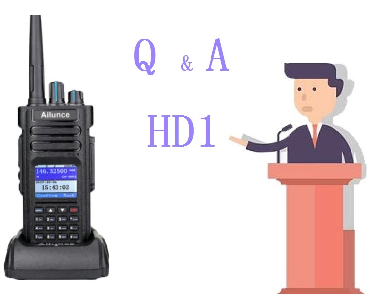 Frequently Asked Questions about Ailunce HD1 - Retevis Blog