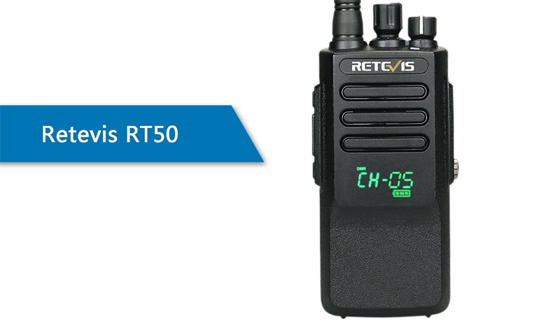 Retevis-RT50-the UHF band DMR radio for business