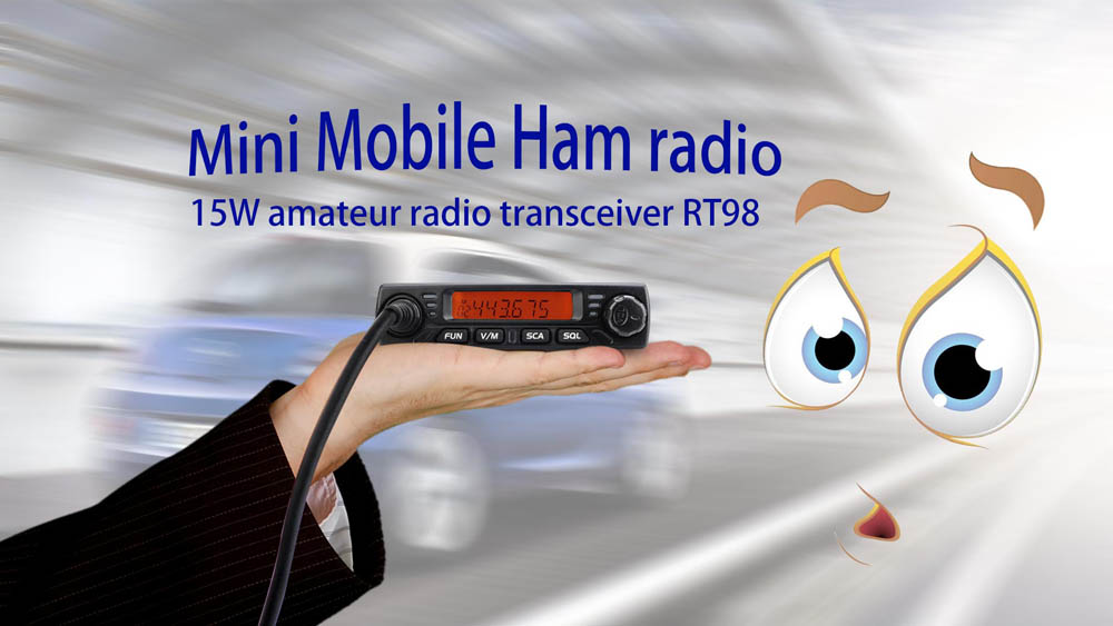 15W Mini Mobile radio RT98