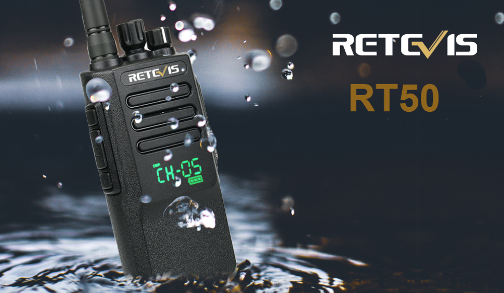 IP67 waterproof dmr radio retevis RT50
